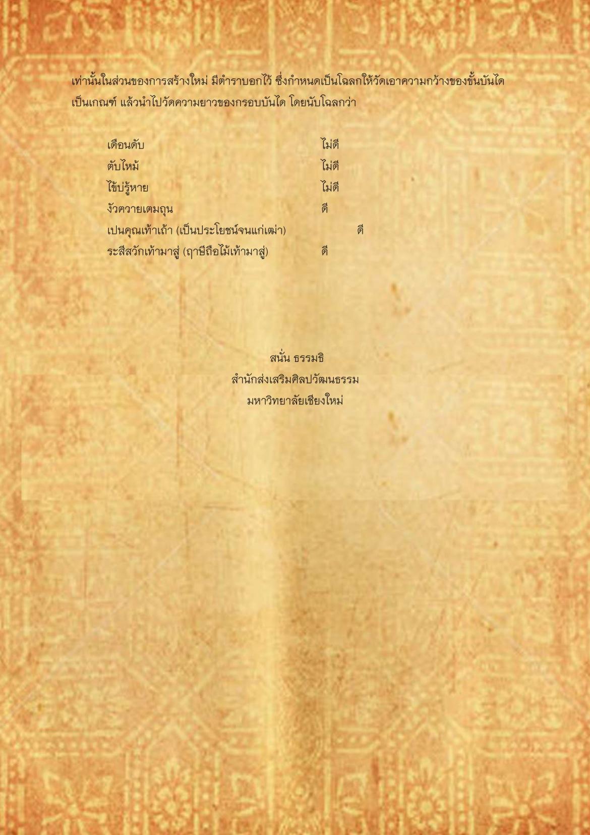 พิธีกรรมเเละความเชื่อการปลูกเรือนล้านนา(66) - 3 กุมภาพันธ์ 2563