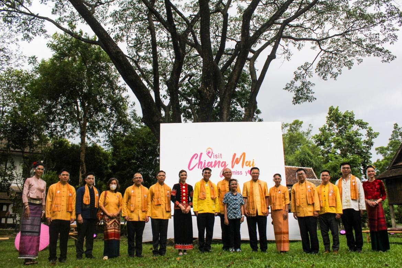 """ร่วมพิธีเปิดตัวกิจกรรม """"Lanna High Tea : จิบชา ล้านนา สร้างสรรค์"""" ภายใต้แคมเปญ Visit Chiang Mai - I miss you"""