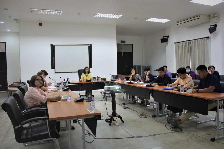 การประชุมคณะกรรมการดำเนินงานโครงการเพื่อขับเคลื่อนยุทธศาสตร์สำนักส่งเสริมศิลปวัฒนธรรม ครั้งที่ 5/2563