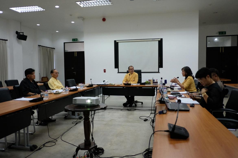 การประชุมคณะกรรมการอำนวยการประจำสำนักส่งเสริมศิลปวัฒนธรรม