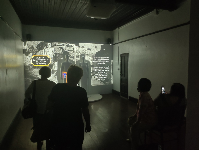 ต้อนรับนักท่องเที่ยวที่เข้าเยี่ยมชมพิพิธภัณฑ์เรือนโบราณล้านนา มช. ระหว่างวันที่ 5 - 7 กุมภาพันธ์ 2564