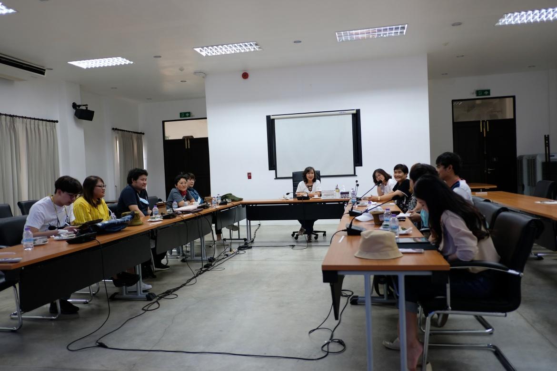 ต้อนรับอาจารย์ ดร.ปริยกร ปุสวิโร อาจารย์ประจำคณะวิศวกรรมศาสตร์ มหาวิทยาลัยเทคโนโลยีพระจอมเกล้าธนบุรี และคณะ