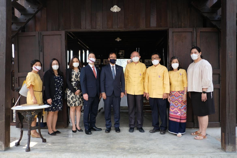 ร่วมต้อนรับอุปทูตรักษาการเอกอัครราชทูตสหรัฐอเมริกาประจำประเทศไทย และคณะ