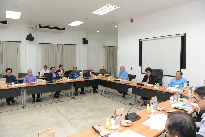 ต้อนรับคณะกรรมการส่งเสริมมหาวิทยาลัยเชียงใหม่ ในโอกาสเข้าร่วมประชุม ณ สำนักส่งเสริมศิลปวัฒนธรรม มหาวิทยาลัยเชียงใหม่