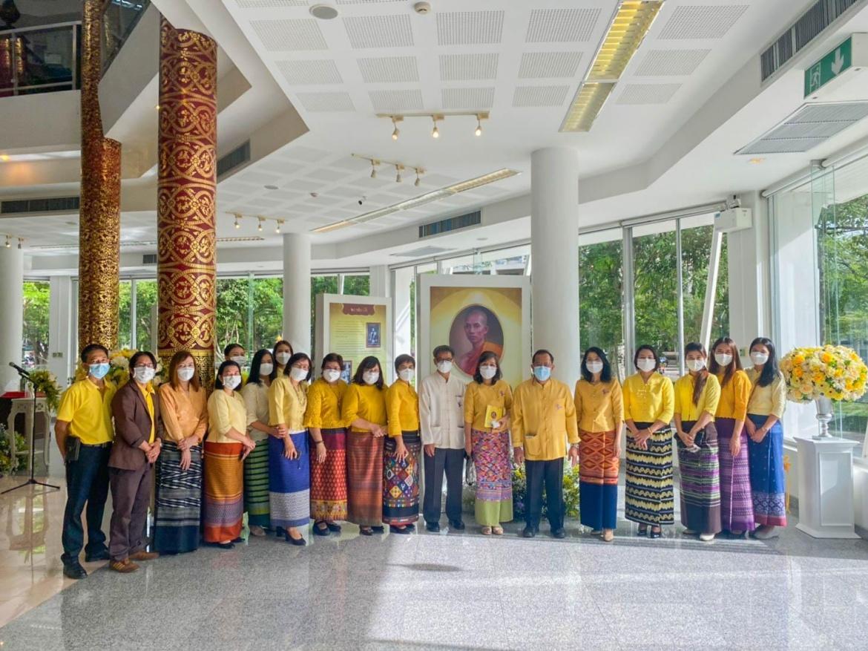 ร่วมพิธีเปิดงานนิทรรศการเฉลิมพระเกียรติ วาระครบ 100 ปี แห่งการสิ้นพระชนม์สมเด็จพระมหาสมณเจ้า กรมพระยาวชริญาณวโรรส พุทธศักราช 2564