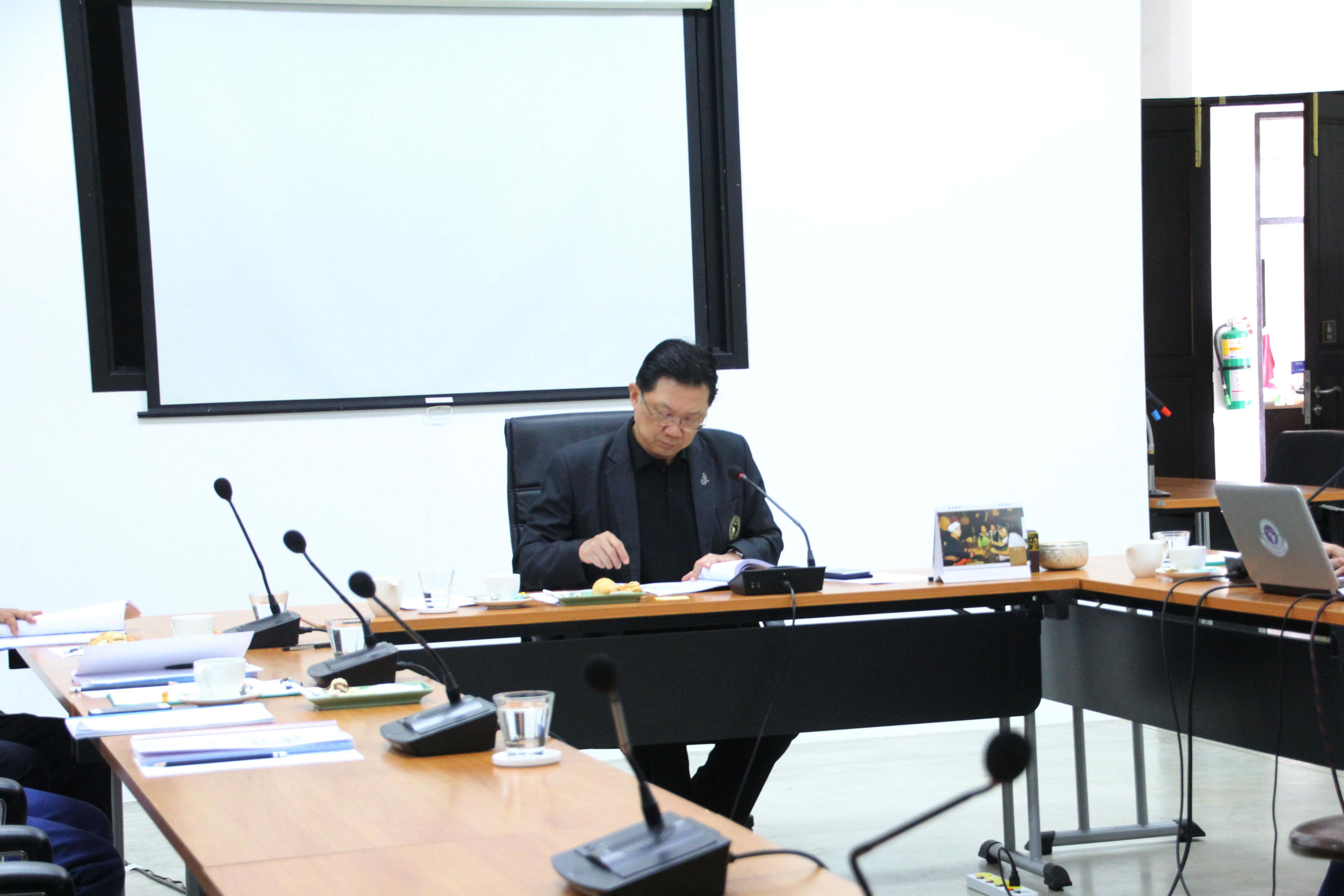 การประชุมคณะกรรมการอำนวยการประจำสำนักส่งเสริมศิลปวัฒนธรรม ครั้งที่ 1/2560
