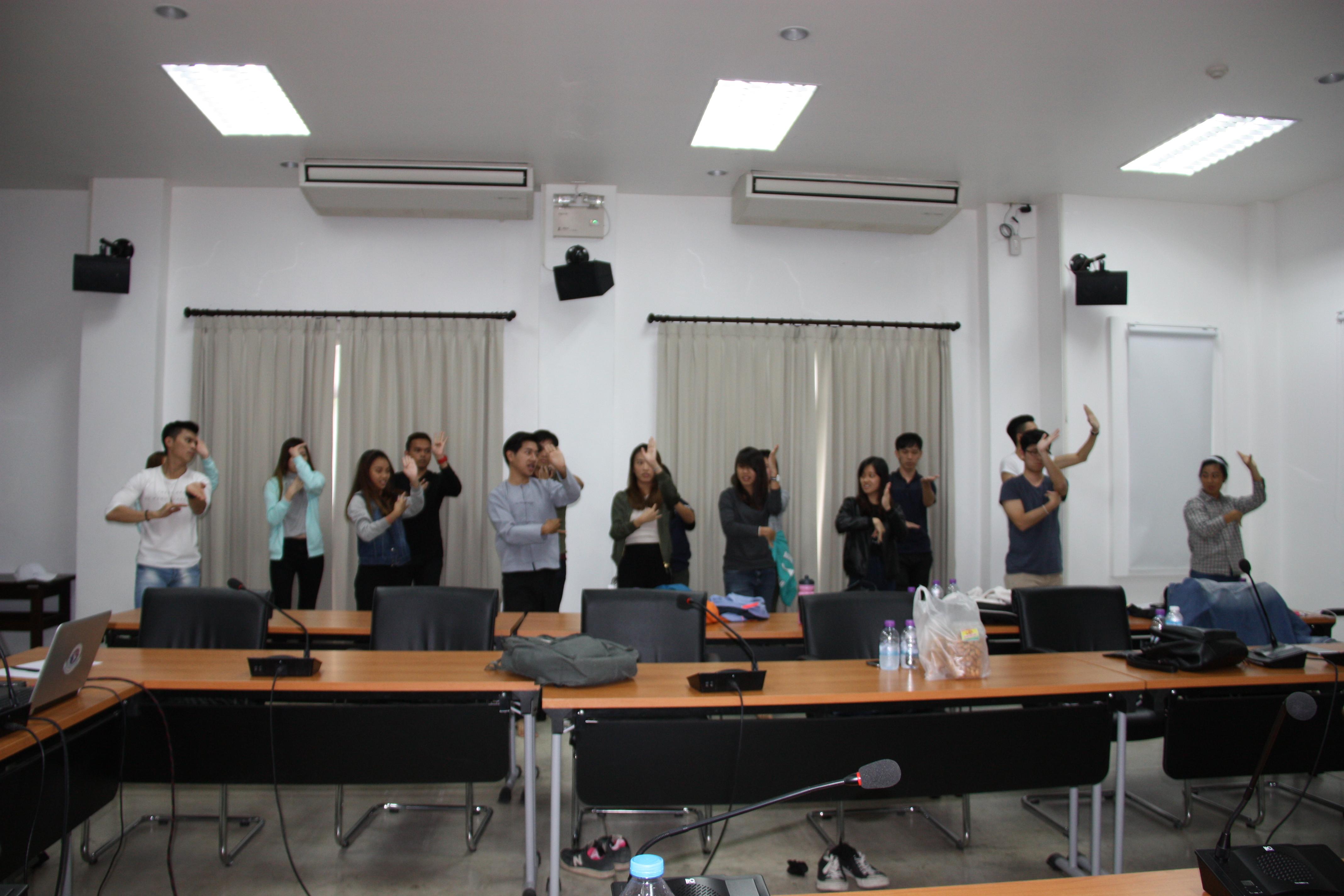 รักษาการแทนผู้อำนวยการสำนักส่งเสริมศิลปวัฒนธรรม ให้เกียรติเป็นวิทยากรบรรยายแก่นักศึกษา Nanyang Technological University ประเทศสิงคโปร์