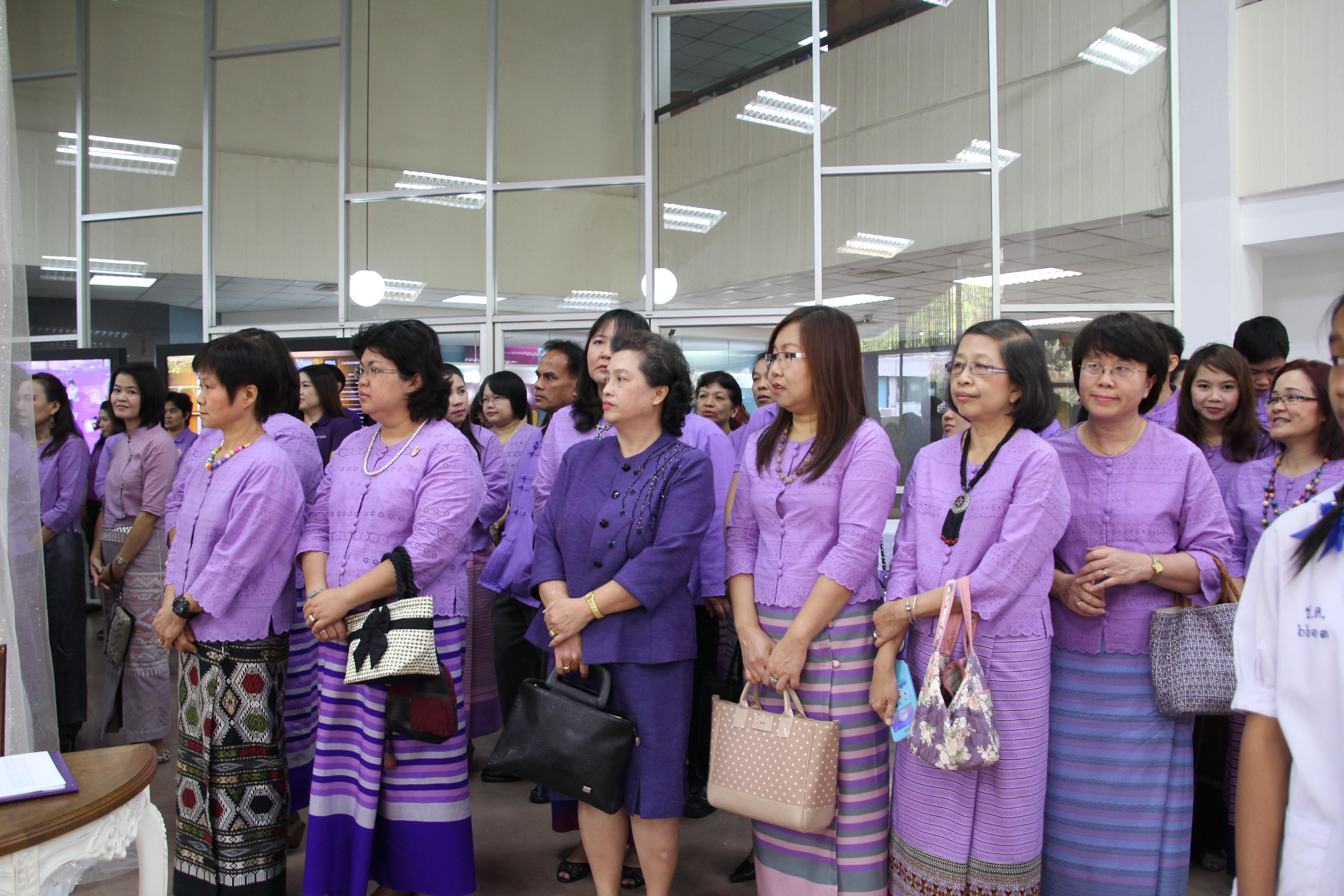 ร่วมพิธีเปิดนิทรรศการเฉลิมพระเกียรติสมเด็จพระเทพรัตนราชสุดาฯ สยามบรมราชกุมารี พระชนมายุครบ 5 รอบ 60 พรรษา