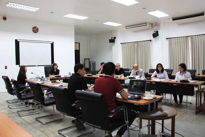 การประชุมงานจ้างรื้อถอน ขนย้ายและปลูกสร้างใหม่ หลองข้าวโบราณ อำเภอป่าซาง จังหวัดลำพูน (ครั้งที่ 1 /2560)