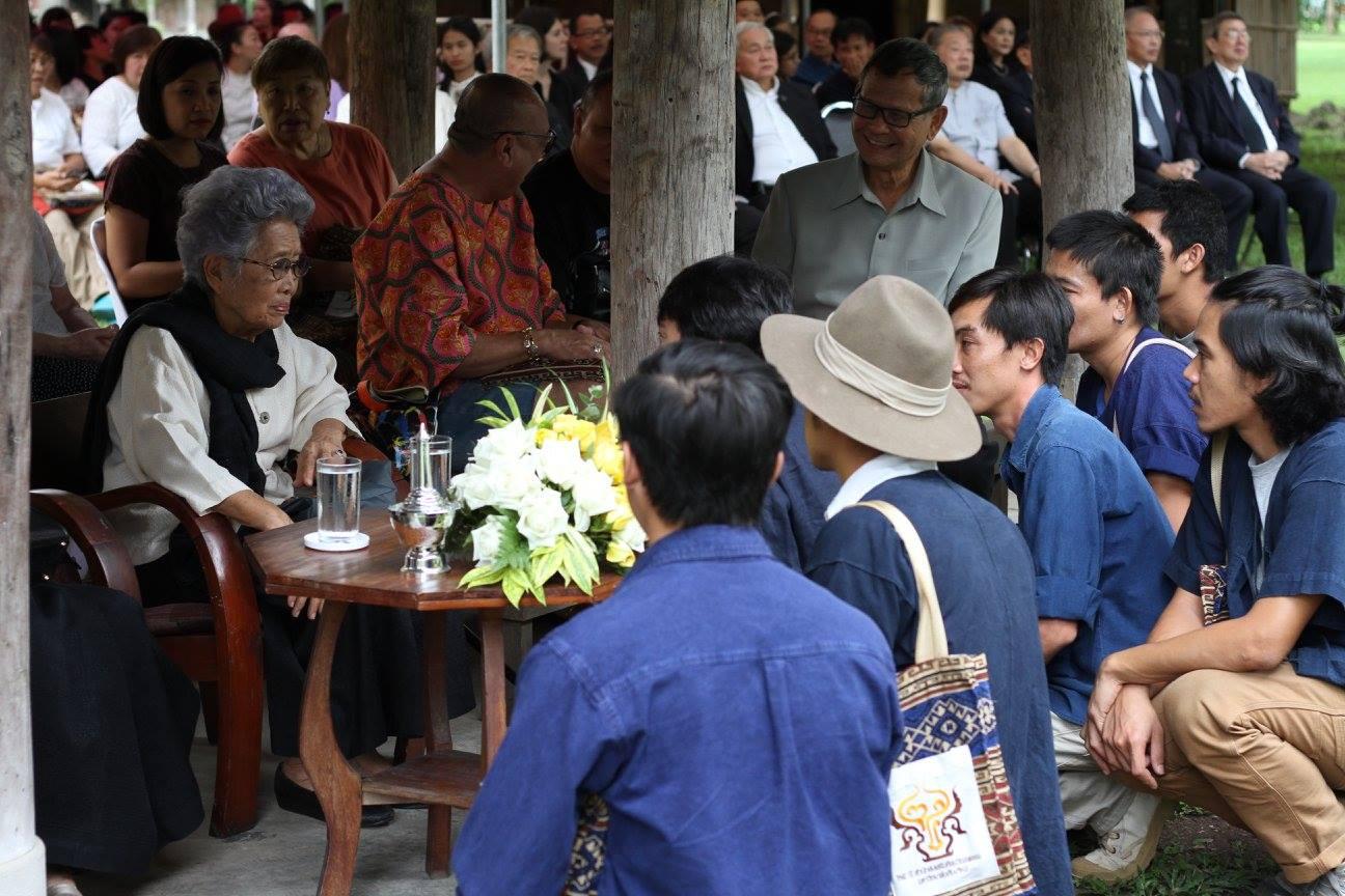 พิธีทำบุญเนื่องวันคล้ายวันสถาปนาสำนักส่งเสริมศิลปวัฒนธรรม ครบรอบ 24 ปี และพิธีมอบหลองข้าวป่าซาง (นันทขว้าง) เมื่อวันที่ 2 กรกฎาคม 2560