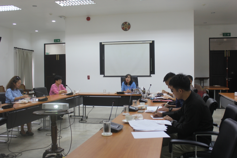 การประชุมคณะกรรมการฝ่ายขบวนแห่ในโครงการส่งเสริมประเพณีลอยกระทง ประจำปี 2562
