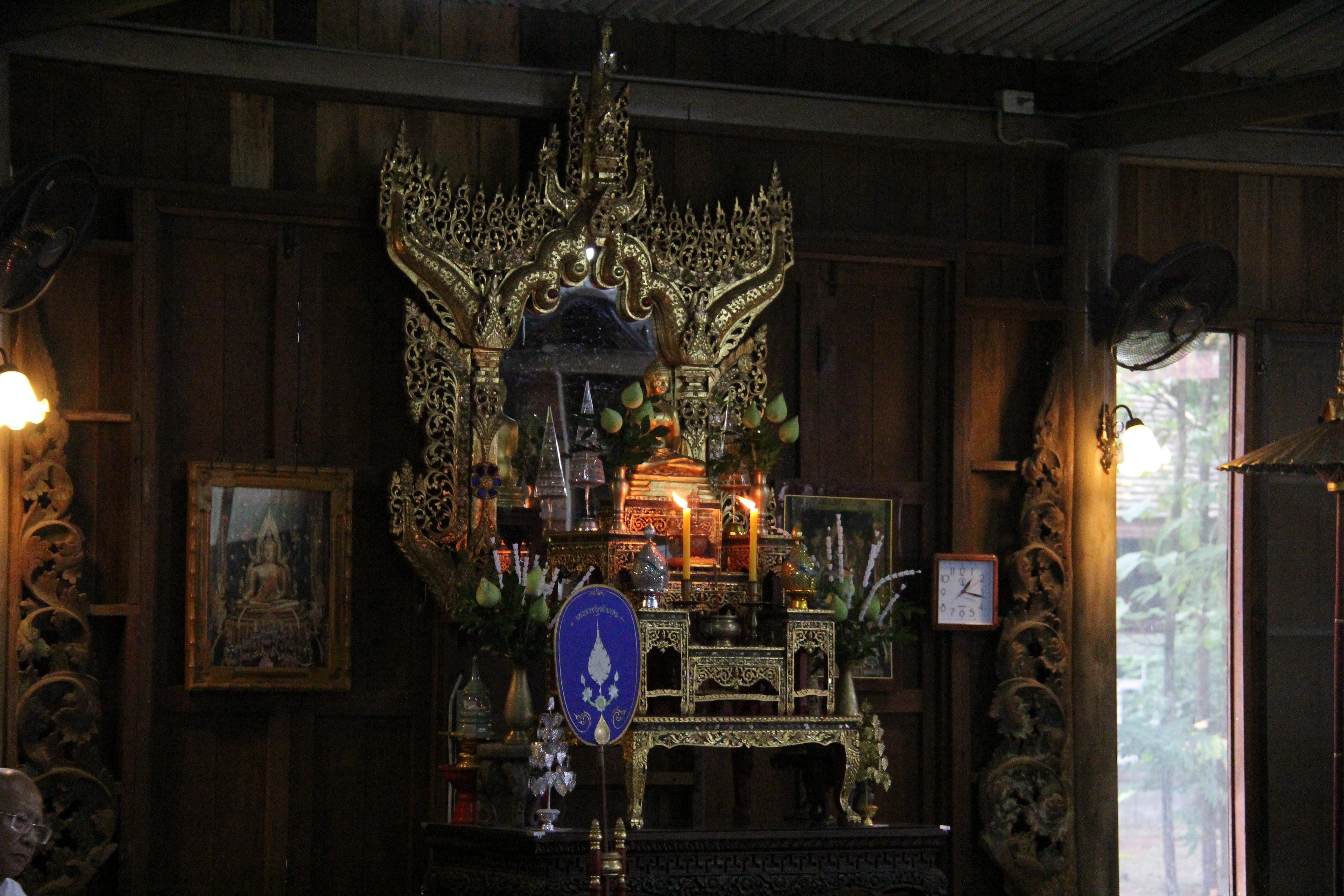 พิธีเปิดโครงการอบรมวิปัสสนากรรมฐาน ปีที่ 21 ประจำปี 2558 เมื่อวันที่ 11 ตุลาคม 2558