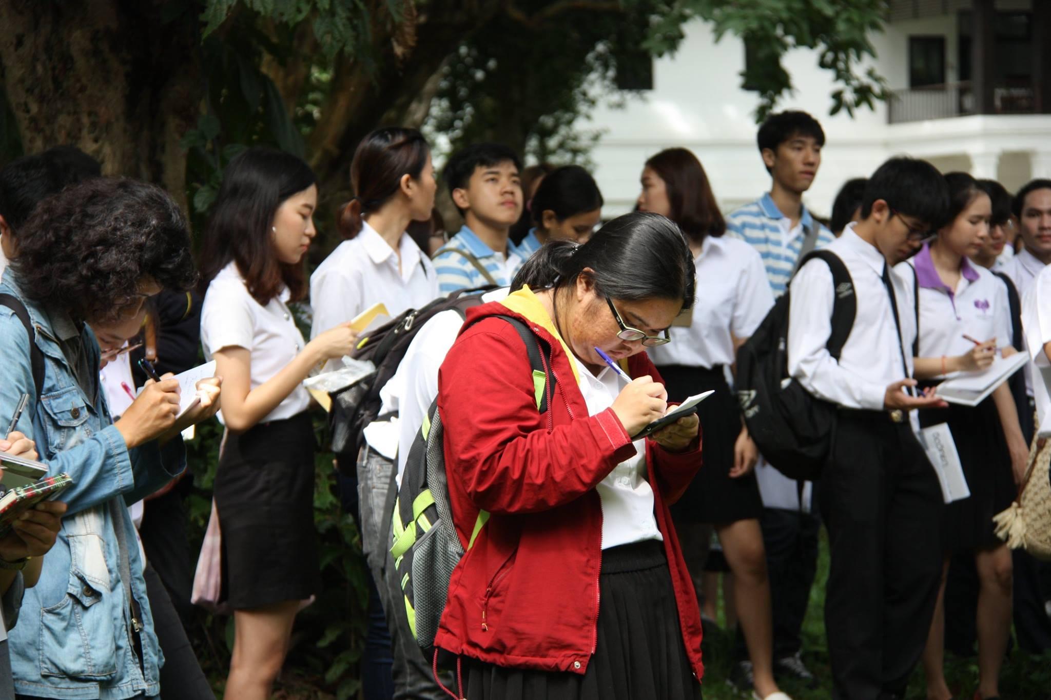 ให้การต้อนรับ อ.ดร.แผ่นดิน อุนจะนำ และคณะนักศึกษาจากคณะสถาปัตยกรรมศาสตร์ มหาวิทยาลัยเชียงใหม่ เมื่อวันที่ 19 มิถุนายน 2560