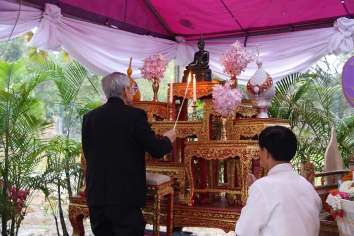 พิธีทำบุญตักบาตร เนื่องในวันมาฆบูชา ประจำปี พ.ศ. 2560