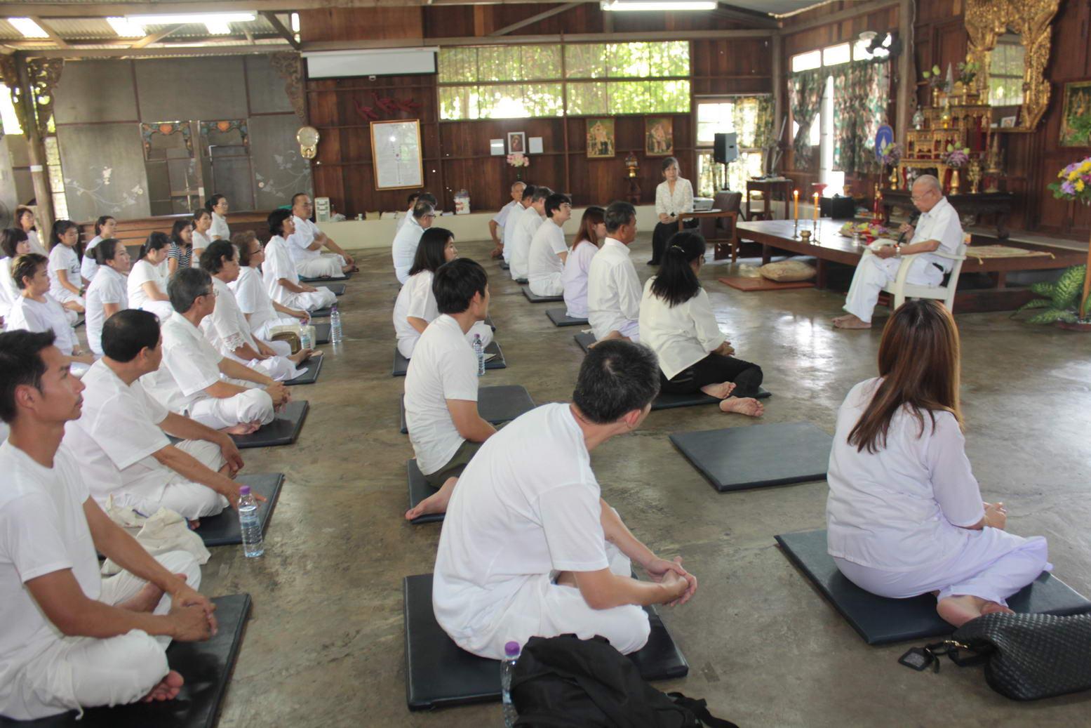 พิธีเปิดโครงการพัฒนาคุณธรรมและจริยธรรม : การฝึกอบรมพัฒนาสติและปัญญา ปีที่ 22