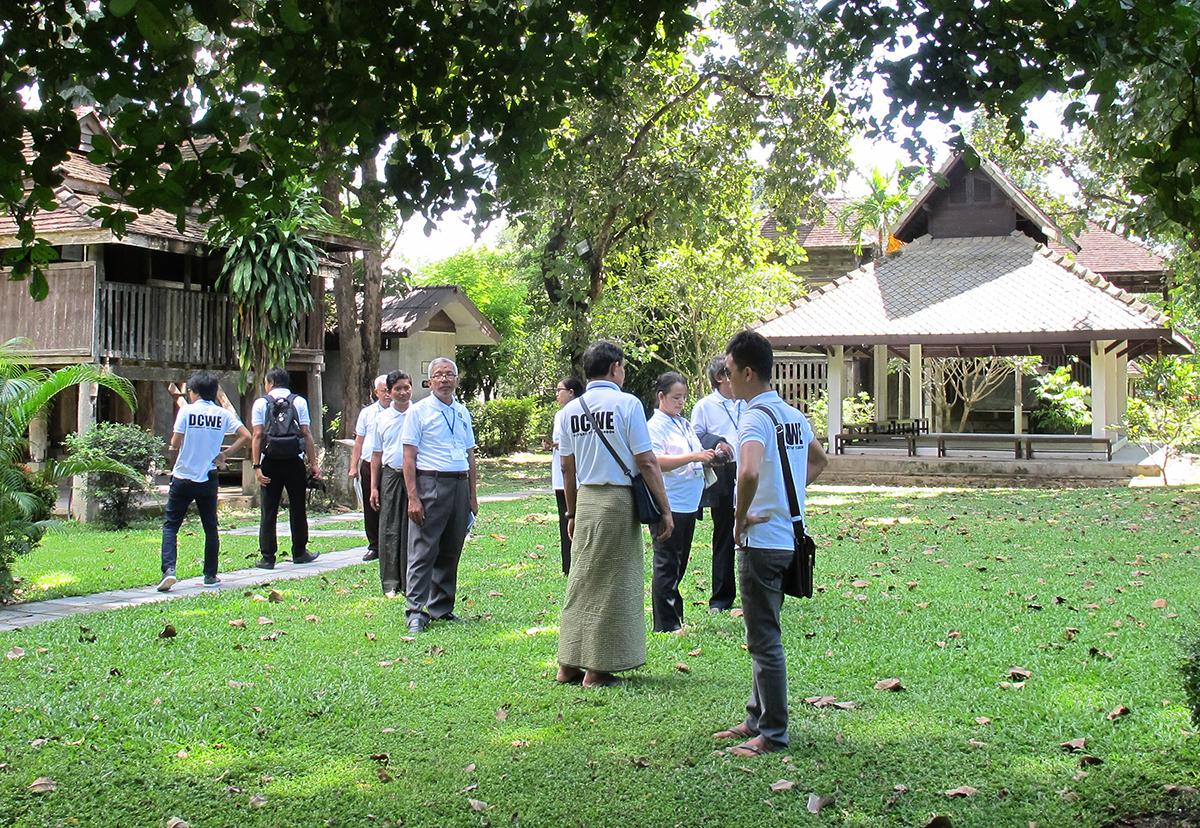 ต้อนรับนักศึกษาและคณาจารย์จาก Yangon University สาธารณรัฐแห่งสหภาพพม่า