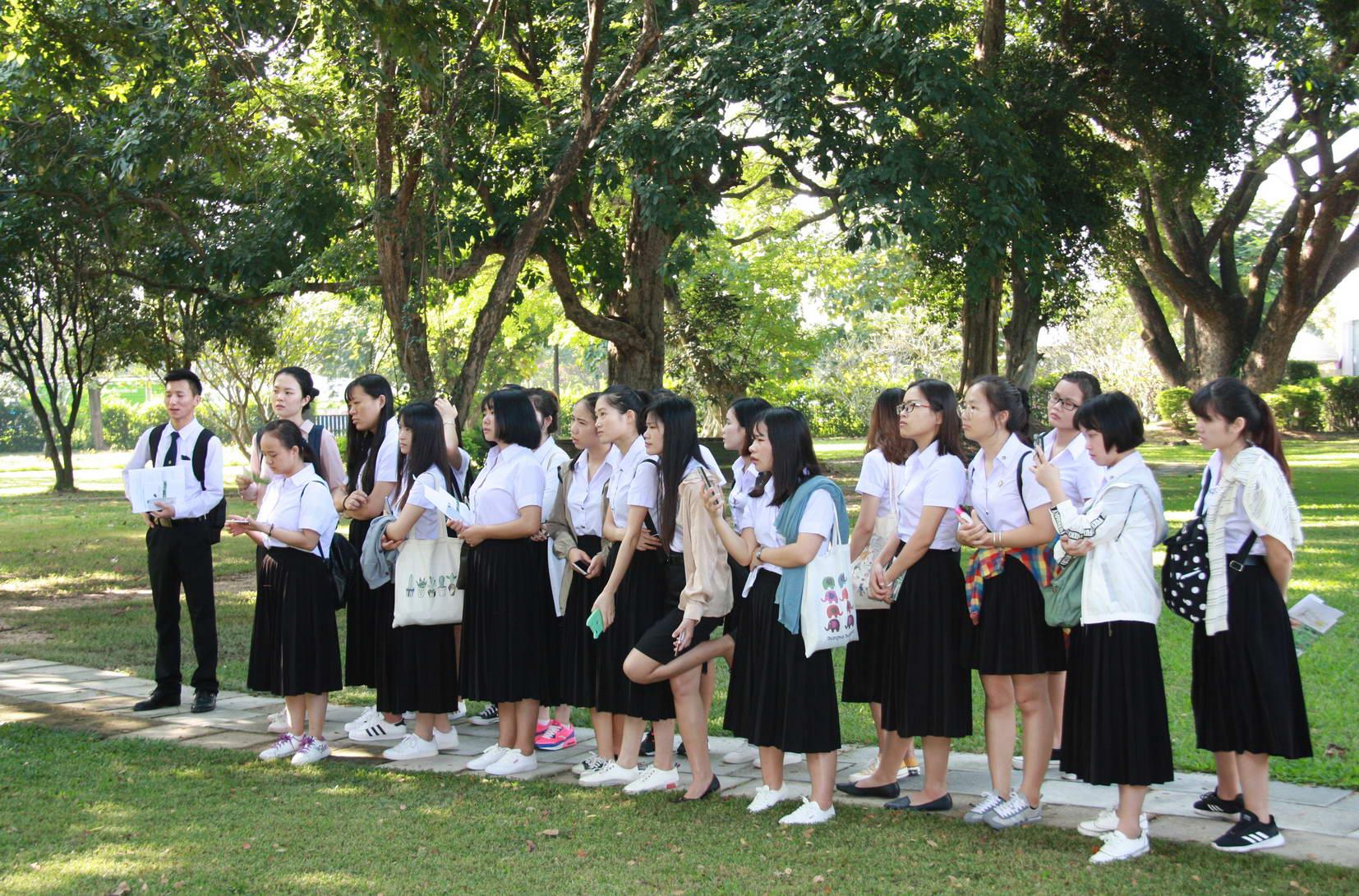 ให้การต้อนรับคณาจารย์ และนักศึกษาแลกเปลี่ยนจาก Yunnan Normal University และ Baise University
