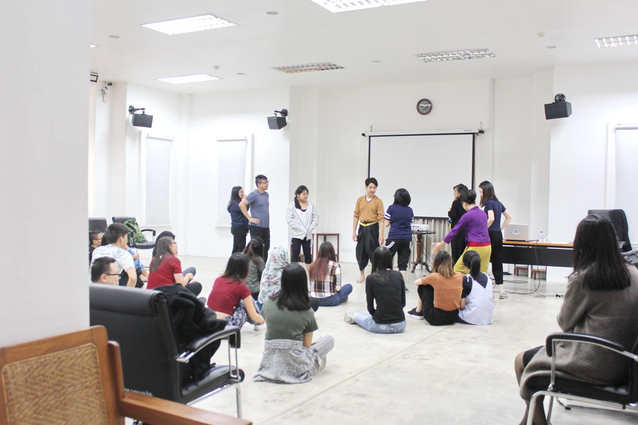 การบรรยายพิเศษให้แก่นักศึกษาจาก Nanyang Technological University ประเทศสิงคโปร์