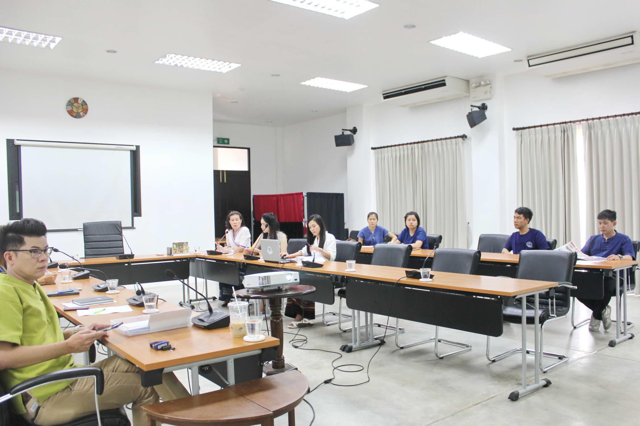 การรับฟังสรุปผลการตรวจสอบ สำนักส่งเสริมศิลปวัฒนธรรม ประจำปี 2561