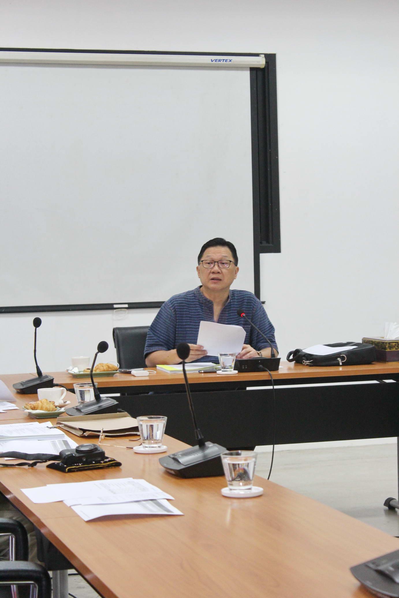 การประชุมคณะกรรมการอำนวยการประจำสำนักส่งเสริมศิลปวัฒนธรรม ครั้งที่ 1/2561