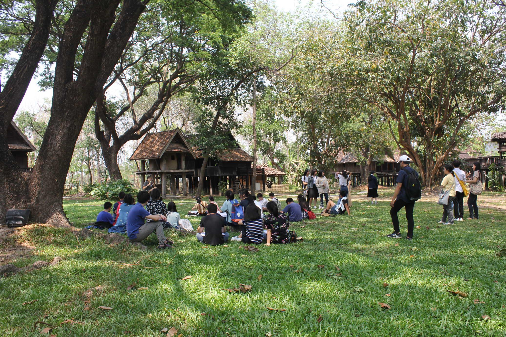 ต้อนรับผู้เข้าร่วมโครงการชิมลางสถาปัตย์ครั้งที่ 21