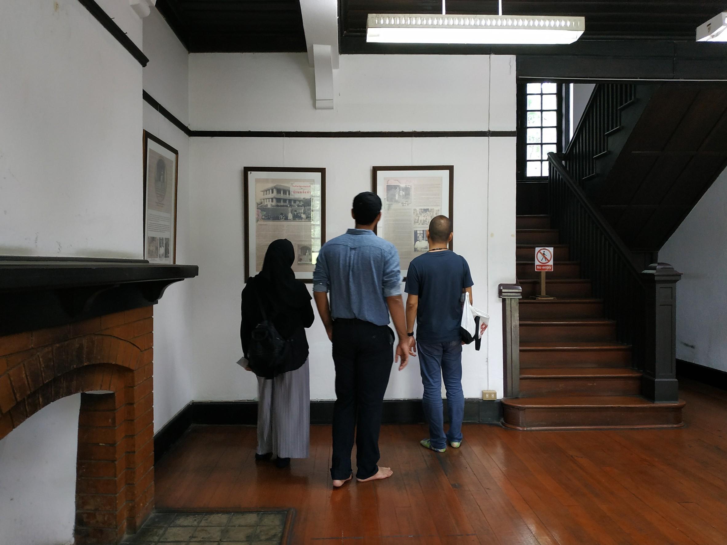 คณาจารย์และนักศึกษาจากคณะมนุษยศาสตร์ และคณะสถาปัตยกรรม มช. เยี่ยมชมพิพิธภัณฑ์เรือนโบราณล้านนา มช.