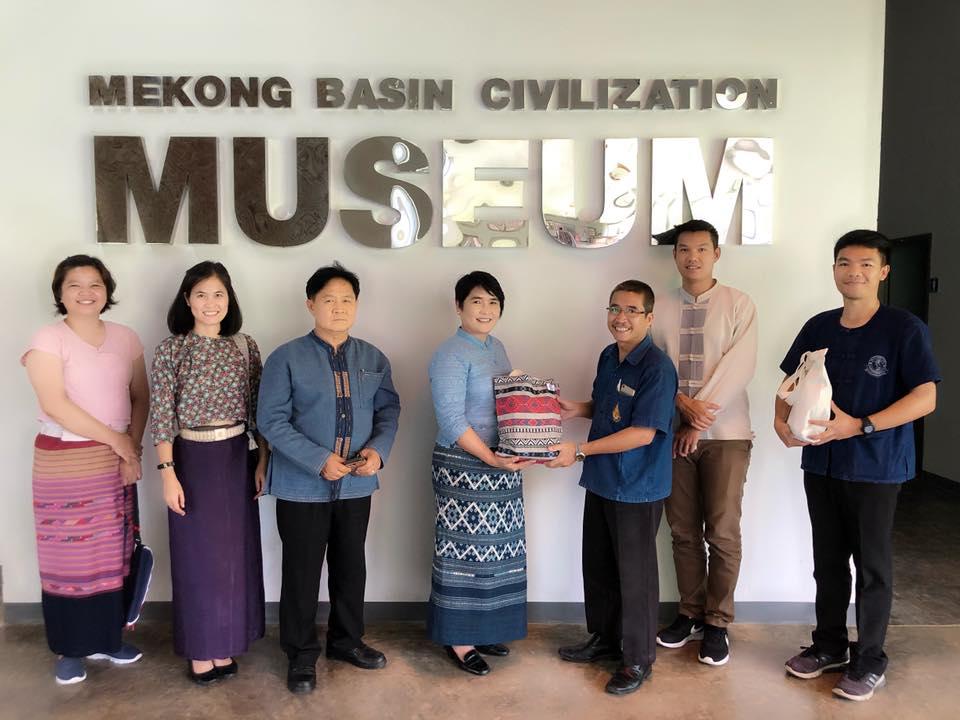 ร่วมงานไหว้สาแม่ฟ้าหลวง และแลกเปลี่ยนเรียนรู้งานด้านพิพิธภัณฑ์และงานด้านศิลปวัฒนธรรม พิพิธภัณฑ์อารยธรรมลุ่มน้ำโขง