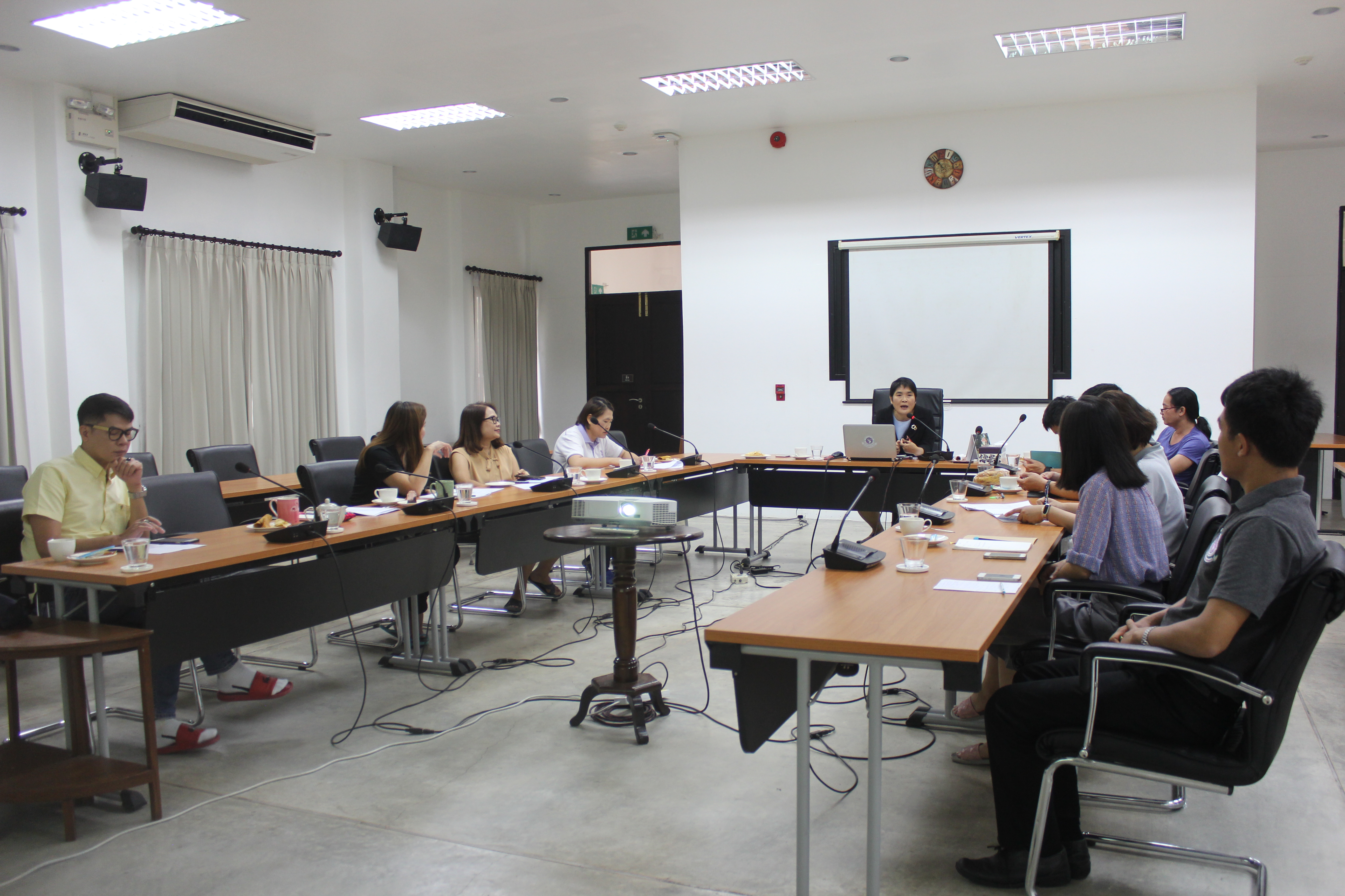 สำนักส่งเสริมศิลปวัฒนธรรม จัดการบรรยายเรื่องการพัฒนากระบวนการทำงานตามแนวทาง Kaizen