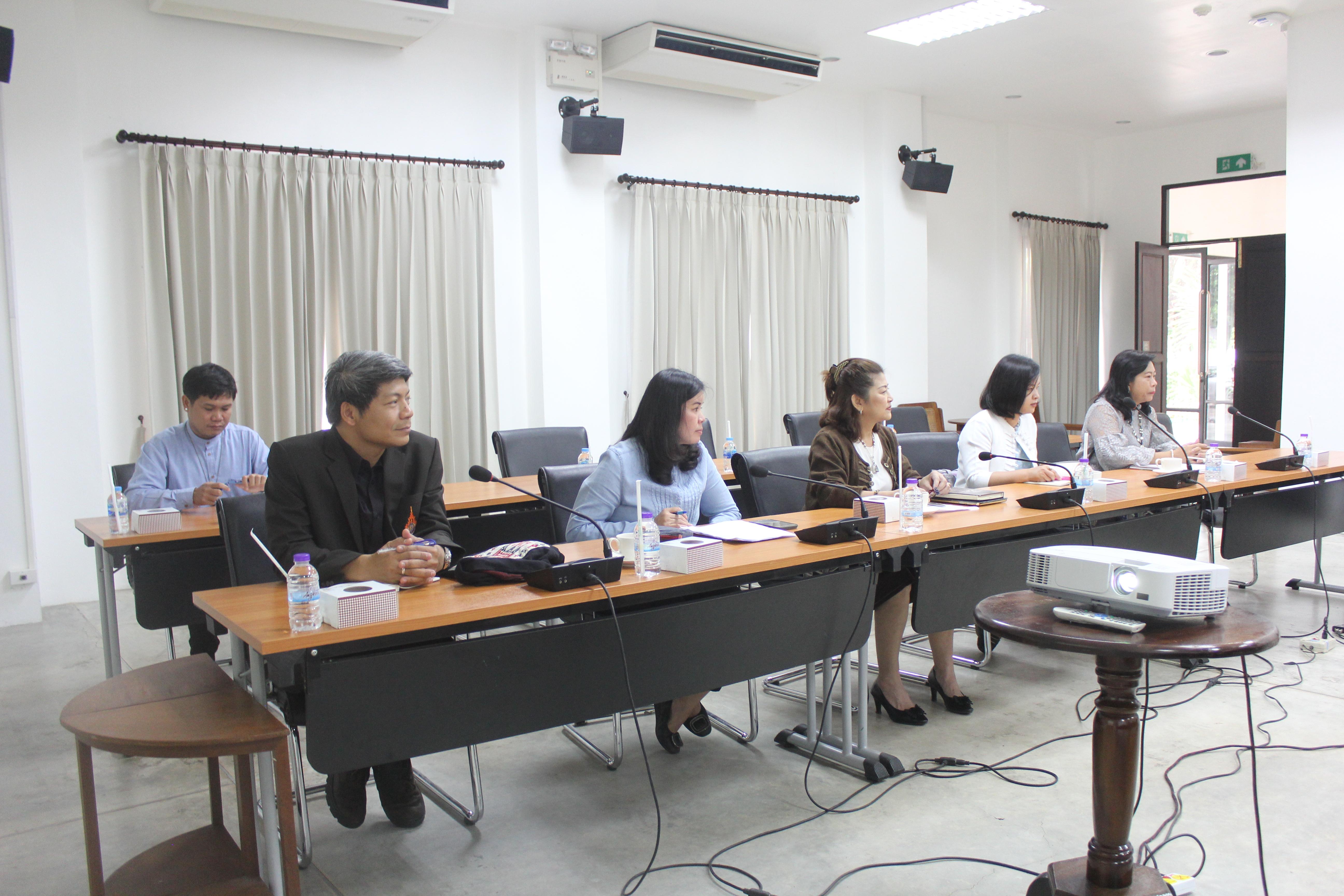 การประชุมสรุปผลการดำเนินงานการจัดประชุมสัมมนาวิชาการเครือข่ายศิลปวัฒนธรรม : สานสัมพันธ์วัฒนธรรมล้านนาศึกษา