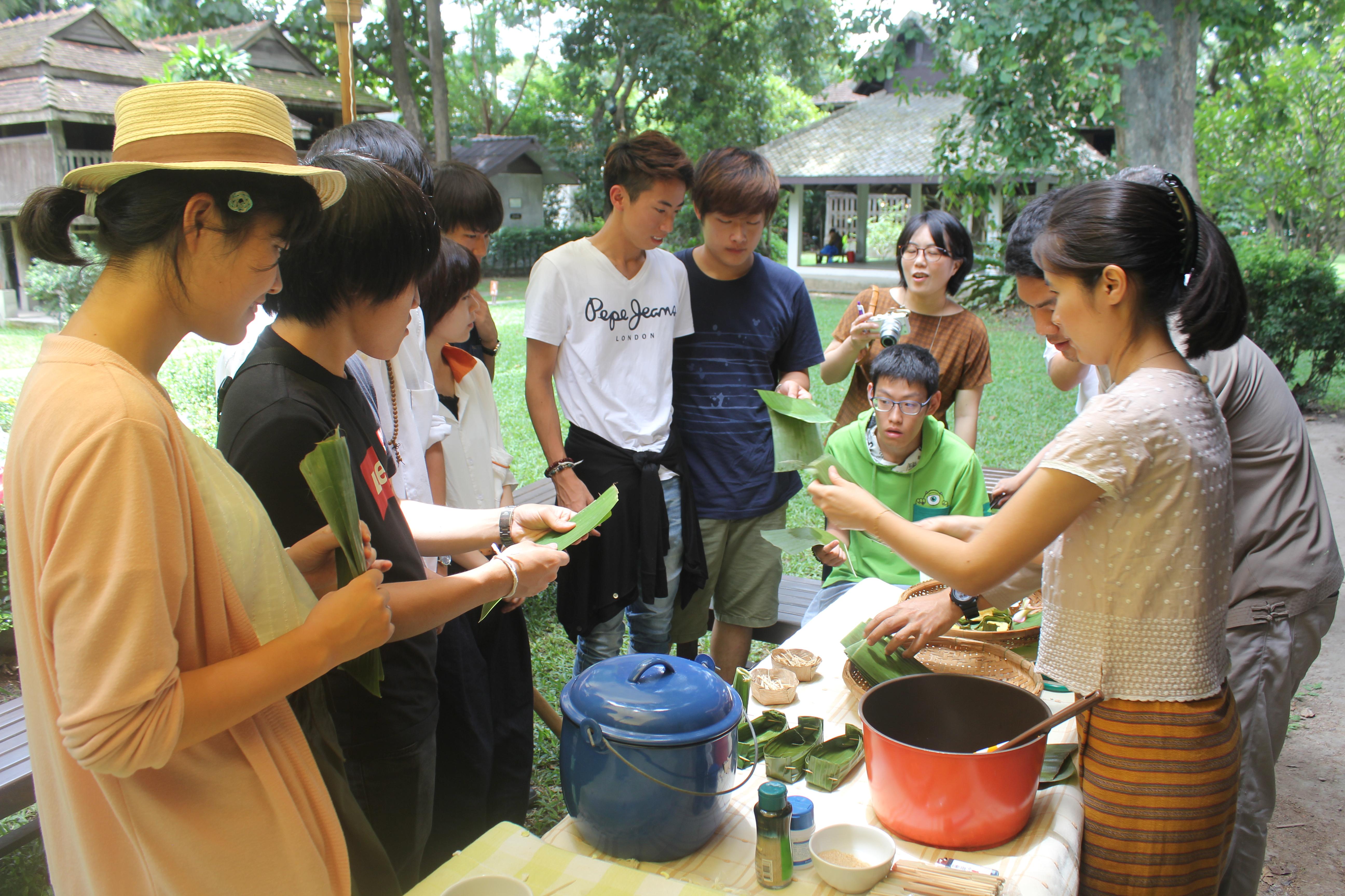 โครงการจัดอบรมเชิงปฏิบัติการด้านศิลปวัฒนธรรมศึกษาสำหรับนักศึกษาและคณาจารย์จาก Chukyo University,Japan