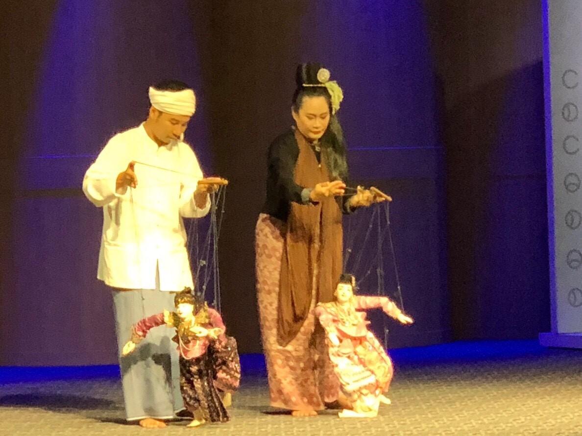 ร่วมการแสดงศิลปวัฒนธรรมในงานสัมมนาวิชาการและการแสดงทางวัฒนธรรม เนื่องในโอกาส 70 ปี ความสัมพันธ์ทางการทูตระหว่างไทย-เมียนมา