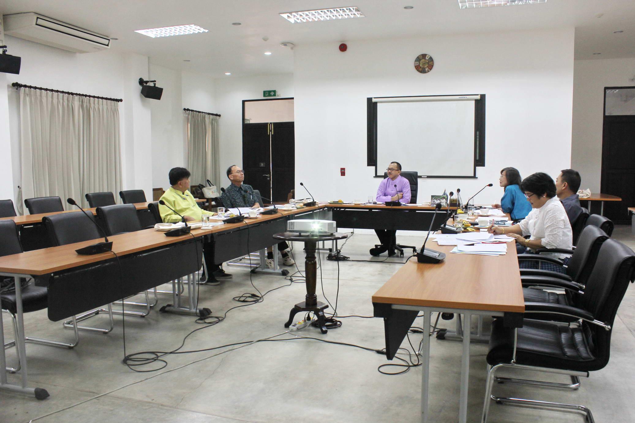 การประชุมคณะกรรมการอำนวยการประจำสำนักส่งเสริมศิลปวัฒนธรรม ครั้งที่ 1/2562
