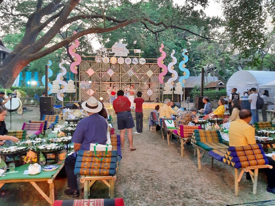 ร่วมพิธีเปิดงานwater festival