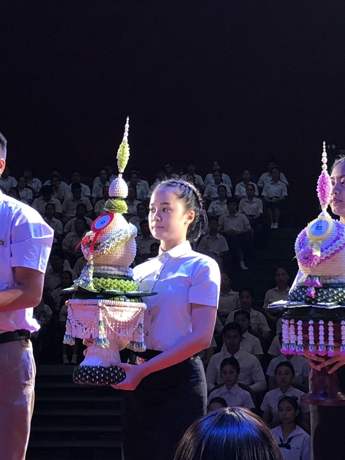 ร่วมพิธีไหว้ครูวิทยาลัยนาฏศิลปเชียงใหม่ ประจำปีการศึกษา 2562