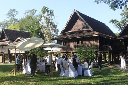 ต้อนรับสื่อมวลชนในโครงการ Chiang Mai Blooms