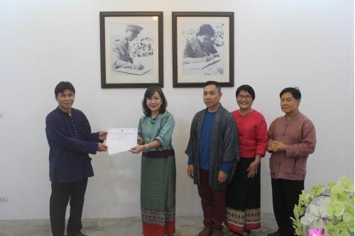 พิธีมอบรางวัลบุคลากรเด่น สำนักส่งเสริมศิลปวัฒนธรรม มช. ประจำปี 2561