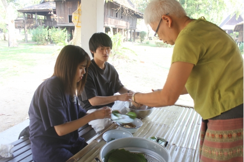 กิจกรรมบูรณาการความร่วมมือด้านศิลปวัฒนธรรมสำหรับนักศึกษาจาก Momoyama Kakuin University ประเทศญี่ปุ่น