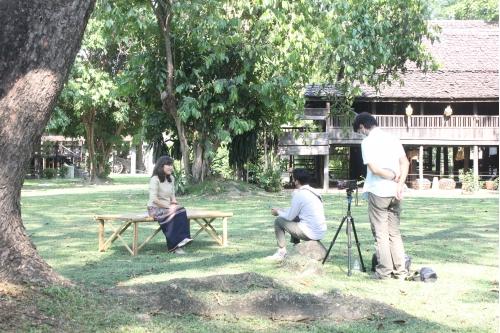 ให้สัมภาษณ์ในโครงการจัดทำวีดิทัศน์วิชาการรับใช้สังคม