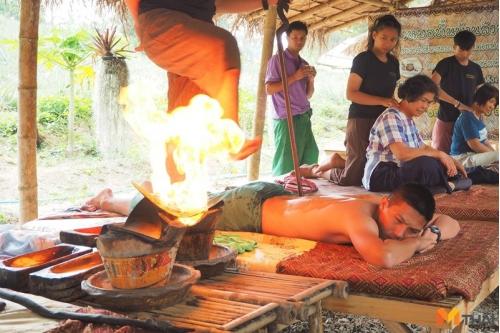 ความร้อนบำบัดโรค ภูมิปัญญาจากชาวบ้าน
