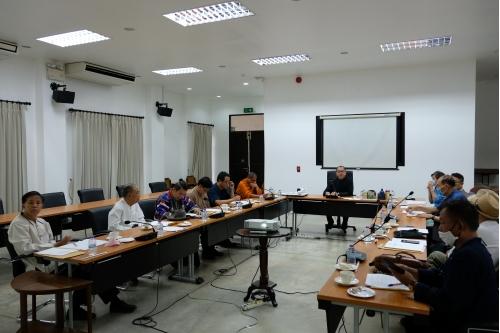 การประชุมคณะกรรมการคัดเลือกผู้สมควรได้รับรางวัลภูมิแผ่นดินปิ่นล้านนามหาวิทยาลัยเชียงใหม่ ประจำปี พ.ศ. 2562