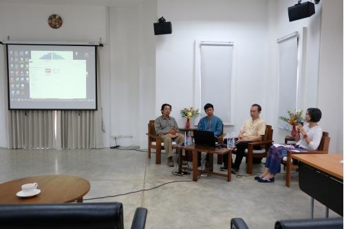 """โครงการ Conservation of Traditional Lanna Architecture in Chiang Mai ภายใต้ทุนรางวัล AFCP 2019 – 2021  จัดการเสวนาไลฟ์สดออนไลน์ ผ่านเฟซบุ๊กเพจ AFCP 2019 CMU Conservation of Traditional Lanna Architecture in Chiang Maiในหัวข้อ """"เรือนโบราณล้านนากับการอนุรักษ์"""" (Traditional Lanna Houses and Preservation)"""