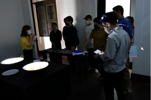 การประชุมคณะกรรมการตรวจรับพัสดุงานจ้างตกแต่งห้องนิทรรศการเพื่อรองรับการจัดแสดงแบบ Mapping และครุภัณฑ์ประกอบ