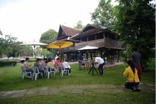 พิธีบอกกล่าววิญญาณผู้ปกปักรักษาเรือนไทลื้อ (หม่อนตุด) และหลองข้าวสารภี เพื่อดำเนินงานโครงการ Conservation of Traditional Lanna Architecture in Chiang Mai ภายใต้ทุนรางวัล AFCP 2019 – 2021