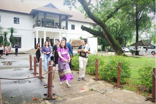 ให้การต้อนรับคณะกรรมการคัดเลือกรางวัลพิพิธภัณฑ์และแหล่งเรียนรู้ดีเด่น ประจำปี 2563 (Museum Thailand Awards 2020)