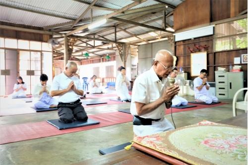 พิธีเปิดโครงการพัฒนาคุณธรรมและจริยธรรม : การฝึกอบรมพัฒนาสติและปัญญา ปีที่ 26 ประจำปี 2563