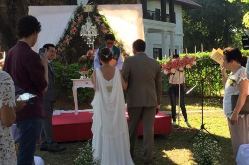 พิธีแต่งงานแบบศาสนาคริสต์