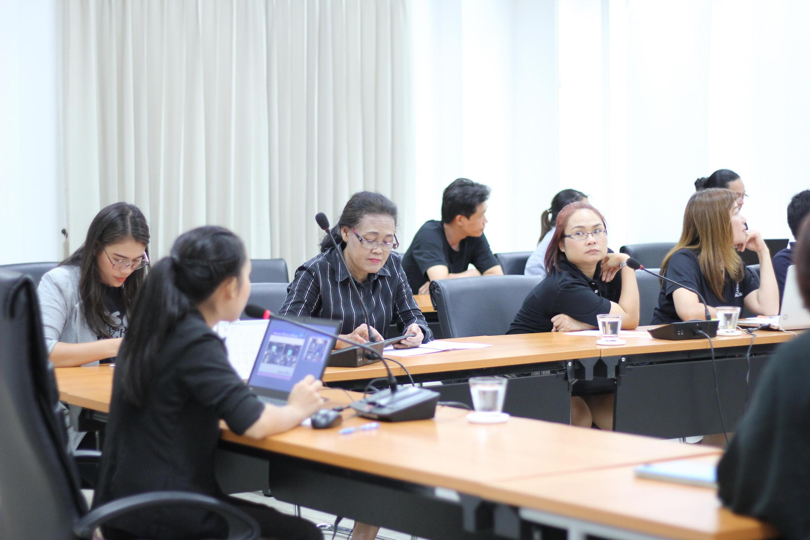 การฝึกอบรมการใช้งานระบบ CMU e-Document เมื่อวันที่ 7 มิถุนายน 2560