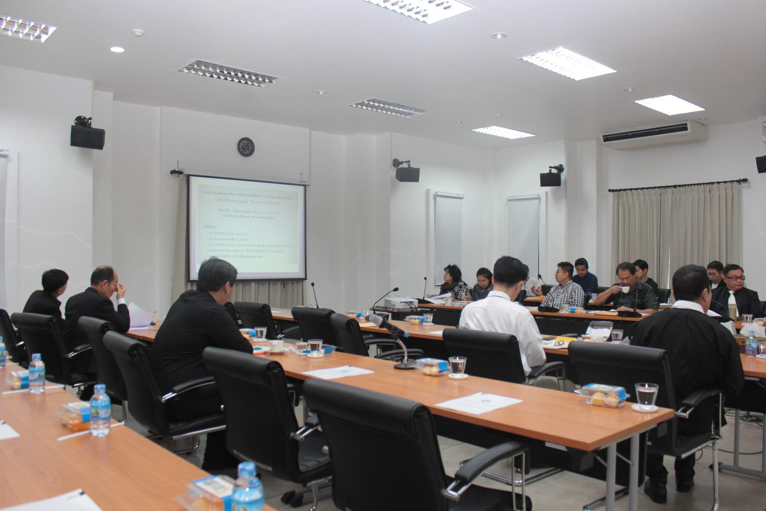 การประชุมคณะกรรมการโครงการล้านนาคดีศึกษา
