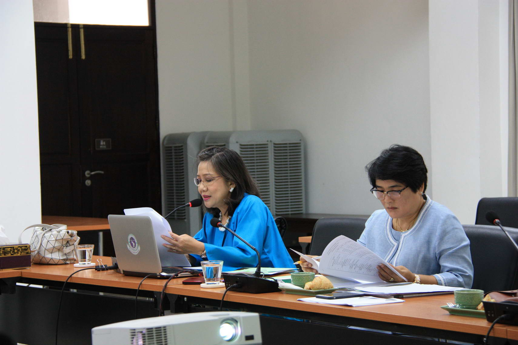 การประชุมคณะกรรมการอำนวยการประจำสำนักส่งเสริมศิลปวัฒนธรรม ครั้งที่ 2/2560