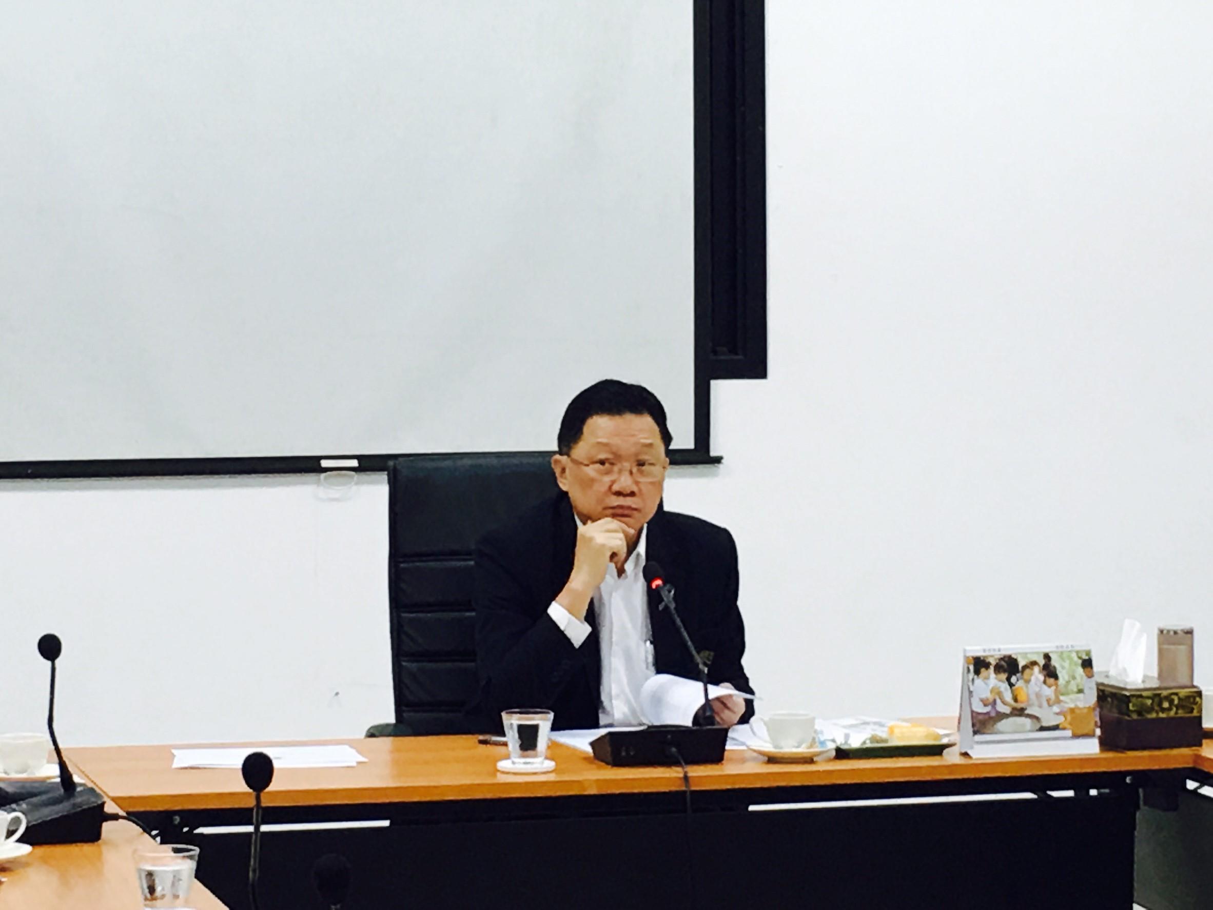 การประชุมเตรียมความพร้อมในการดำเนินโครงการส่งเสริมประเพณีลอยกระทง (ยี่เป็ง) ประจำปี พ.ศ. 2560